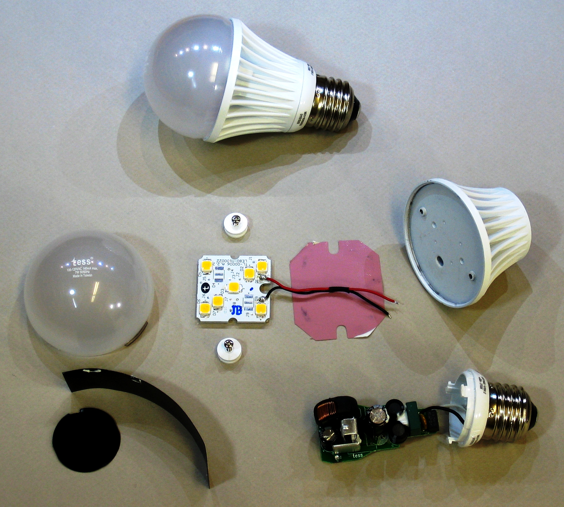 Tess Led Bulb Tear Down Jgscraft